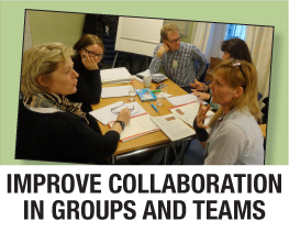 Improve collaboration in groups and teams
