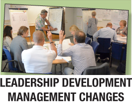 Leadership development management changes