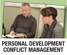 Personal development conflict management